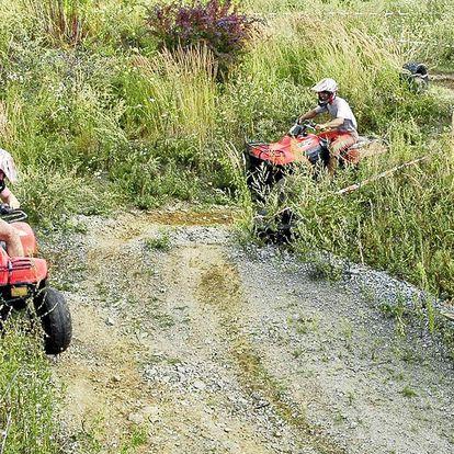 Adrenalin na čtyřkolkách pro malé i velké