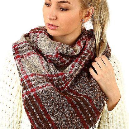 Velký kostkovaný šátek