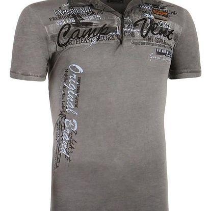 Pánské tričko s límečkem