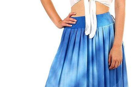 Dámská dlouhá batikovaná sukně