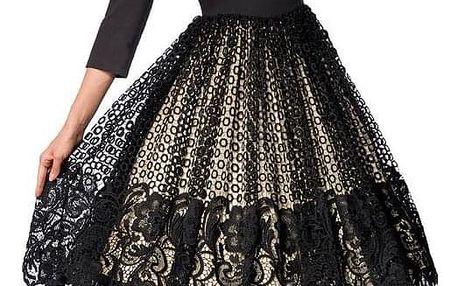 Luxusní společenské retro šaty