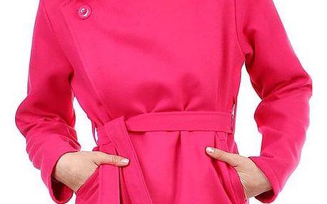Dámský fleecový kabátek s páskem