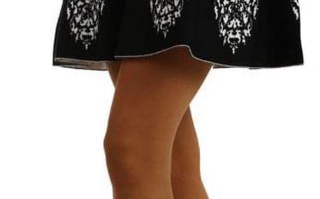 Dámská áčková sukně z úpletu