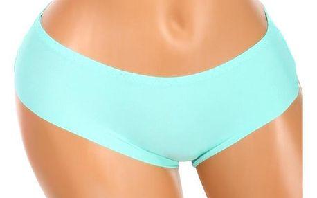Bezešvé kalhotky s krajkou na zadním dílu