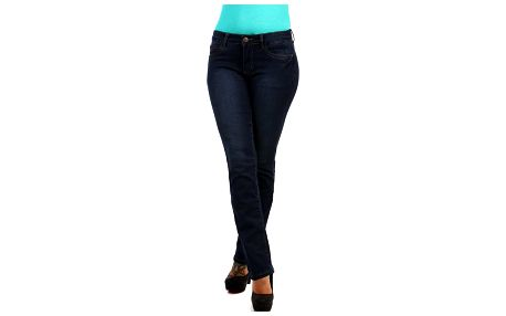 Dámské rovné džíny - nízký pas
