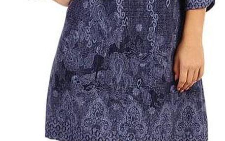 Dámské šaty áčkového střihu - i pro plnoštíhlé
