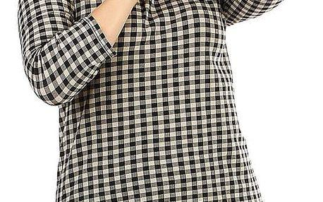 Společenské dámské šaty s límečkem