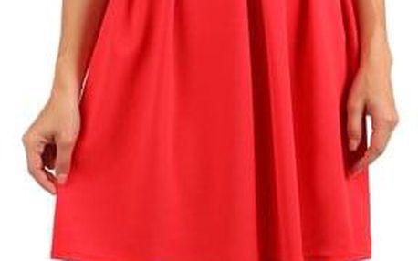 Šaty s dvojitými ramínky
