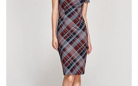 Kárované business šaty
