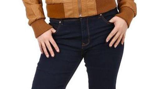 Tmavé dámské džíny- i pro plnoštíhlé