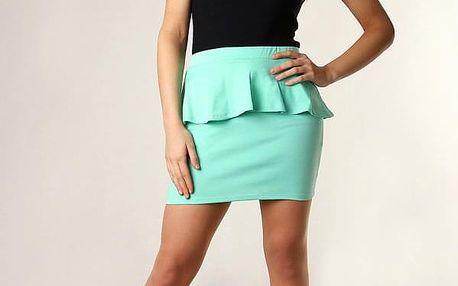 Dámská peplum sukně