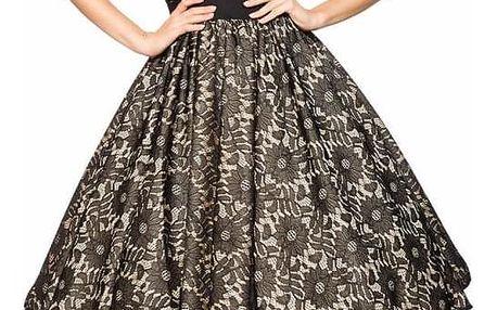 Dámské společenské šaty vintage styl