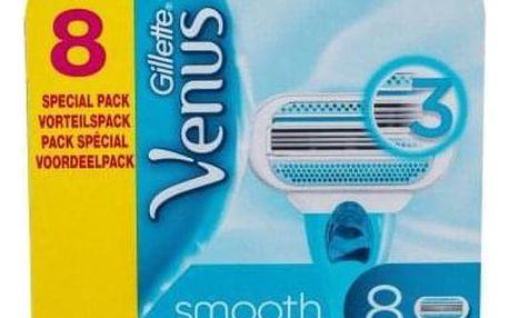 Gillette Venus Smooth 8 ks náhradní břit pro ženy