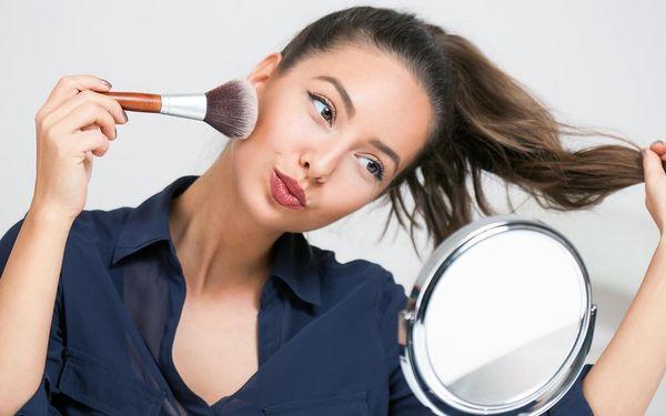 Konzultace či kurz líčení i make-up artu s vizážistkou