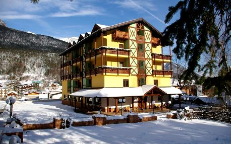4–8denní Paganella se skipasem | Hotel Dal Bon*** | Ubytování, polopenze a skipas