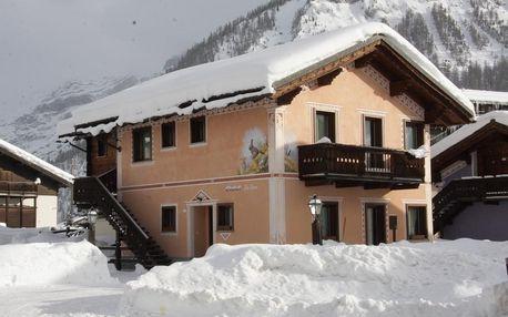 8denní Livigno vč. skipasu | Apartmány Chalet La Golp – Pineta | Ubytování, skipas