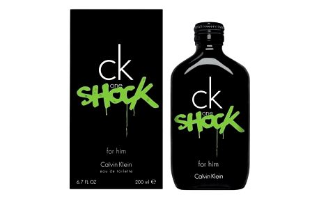 Calvin Klein CK One Shock For Him 200 ml toaletní voda pro muže