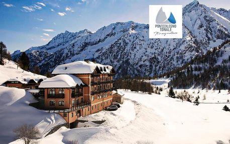 5denní Passo Tonale | Hotel Locanda Locatori*** | Doprava, ubytování, polopenze a skipas