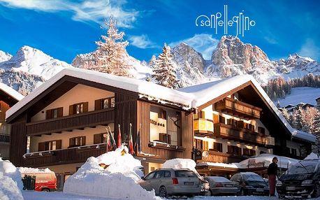 Hotel Arnica – 6denní lyžařský balíček s denním přejezdem, skipasem a dopravou v ceně
