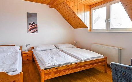 Pohodový pobyt v Liptově: pokoje pro 2-6 osob