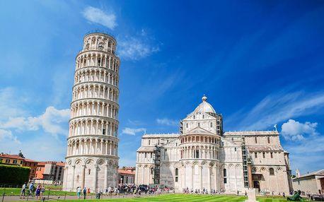 Cinque Terre, Pisa, Lucca a Florencie | 2 noci se snídaní | 5denní poznávací zájezd do Itálie