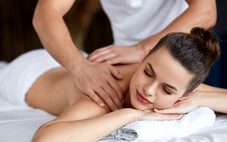 60 či 90 minutová masáž u vás doma s výběrem ze 4 druhů