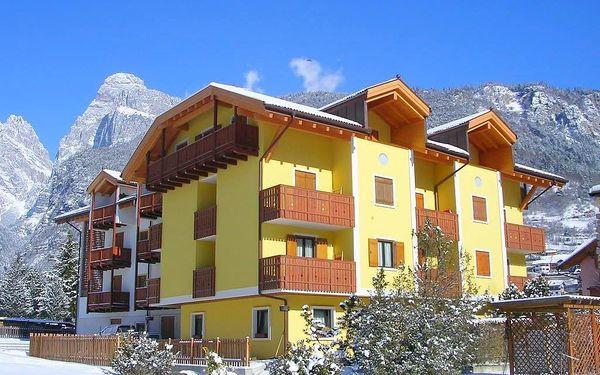 8denní Paganella se skipasem   Residence Alpenrose***   Ubytování a skipas