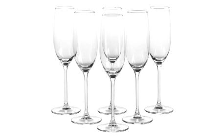 Altom 6dílná sada sklenic na šampaňské, 200 ml