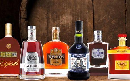 Degustace rumů pro dva - Platinum