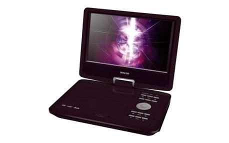 Přenosný DVD přehrávač Sencor SPV 2919 RED