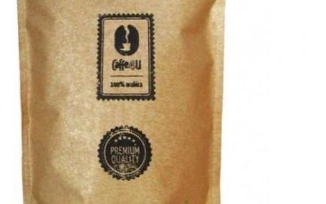 CAFFE4U Zelená káva mletá - kardamon 250 g