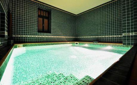 Jičín luxusně: Grand Hotel Praha **** s privátním wellness Císařské lázně a polopenzí