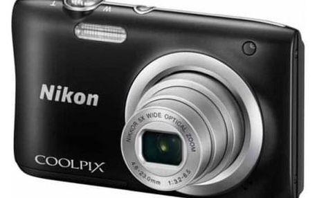 Fotoaparát Nikon Coolpix A100 černý-rozbaleno