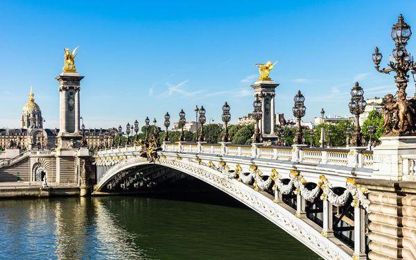 Paříž - prodloužený víkend, Paříž, letecky, snídaně v ceně2