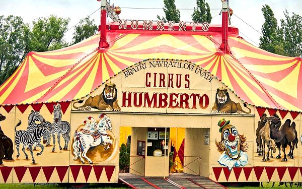 Cirkus Humberto přijíždí do Příbrami