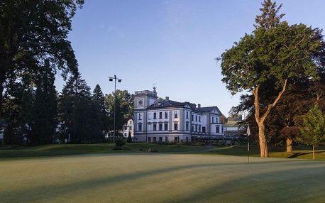 Benešov, Golf & Spa Resort Konopiště**** s procedurami