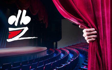20% sleva na 2 vstupenky do Divadla Bez zábradlí