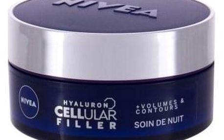 Nivea Hyaluron CELLular Filler Volume Night 50 ml noční vyplňující krém pro ženy