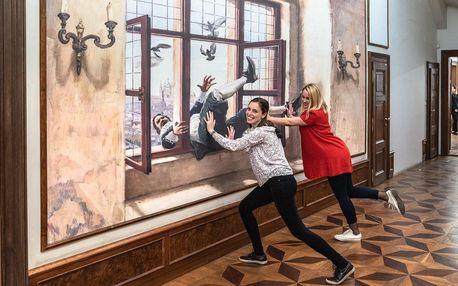 Muzeum iluzivního umění pro jednotlivce i rodiny