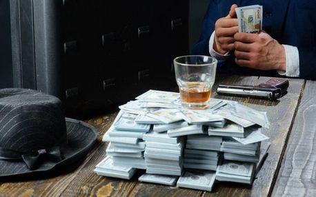 Chytrá únikovka: mafiánská loupež pro 2–5 hráčů