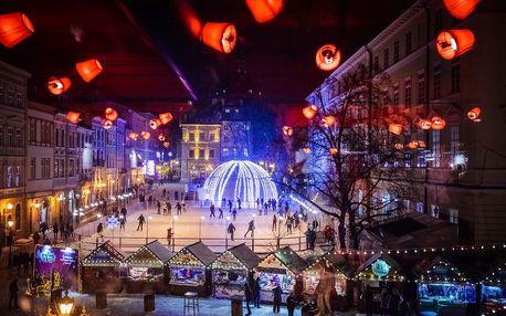Adventní Lvov | 3denní zájezd na Ukrajinu | Vánoční trhy, prohlídka s průvodcem