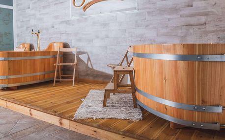 Valašský Hotel a Pivní lázně v Luhačovicích s polopenzí