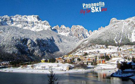 6denní Paganella se skipasem | Hotel Aurora*** | Doprava, ubytování, polopenze a skipas