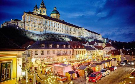 Adventní klášter Melk a Kremže | Jednodenní zájezd na vánoční trhy do Rakouska