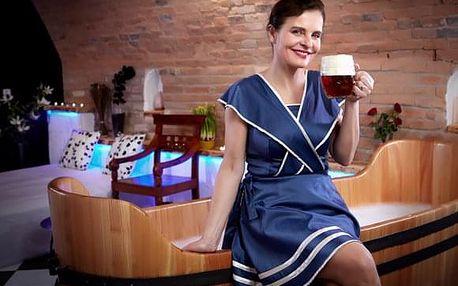 Pivní a meduňková péče pro DVA s relaxační zvukovou terapií a večeří pro dva s ubytováním na 2 noci