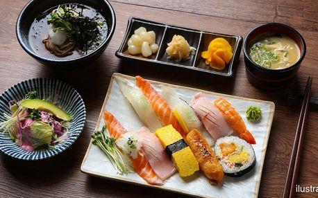 All you can eat oběd: asijská kuchyně, sushi, saláty