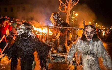 Adventní Salzburg a čertovský Schladming | Jednodenní zájezd na vánoční trhy v Rakousku