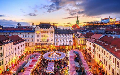 Vánoční Bratislava a zámek Schloss Hof | Jednodenní zájezd s průvodcem