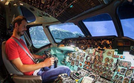 Letecký simulátor DC-9 + vyhlídkový let v Cessně 172