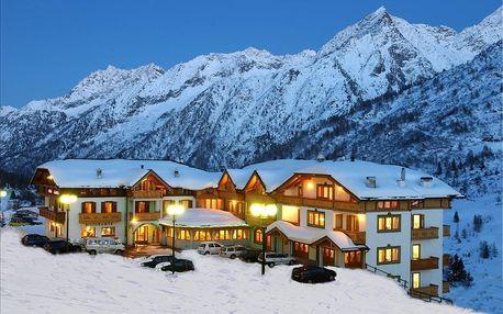 7 nocí Passo Tonale | Hotel Gardenia***+ | Polopenze | Dítě do 6,99 let zdarma | Wellness v ceně